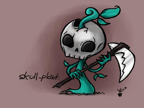 Skull Plant [Concept Art]